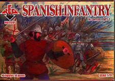 Red Box Models 1/72 SPANISH INFANTRY 16th Century Figure Set #2