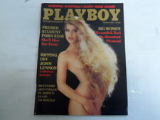 PLAYBOY MARCH 1984 BIG WOMEN DONA SPEIR DANA CANNON (593)