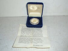 1975 Solomon Islands $ 30 Dollar Proof Coin Silver & Gold Letcher Mint Box Paper