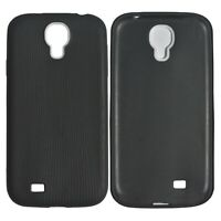 TPU Luxury Ultra Soft Silicone Gel Full Cover Case For Samsung Galaxy S4 Black