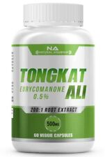 Tongkat Ali 200:1 Ratio Extract 0.5% Eurycomanone HIGHEST QUALITY MAX RESULTS