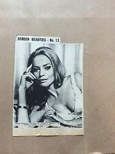 H1-1 ephemera 1967 picture actress maggie imberley the mummy's shroud