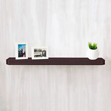 "Eco Friendly 36"" Uniq Floating Wall Shelf & Decorative Shelf,Espresso Wood Grain"