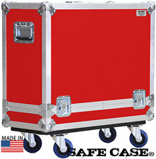 "Ata Safe Case for Marshall Marshall Dsl40C Road Case 1/4"" Ply Red"