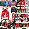 Unisex Mens Womens Ladies XMAS Novelty Christmas Light Up Vintage Jumper Sweater