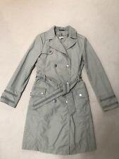 TRENDY Womens Max&Co Midi Trench Coat, Light Grey, Size S