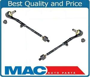 For BMW 2007-2012 328i 335i Rear Wheel Drive Inner & Outer Tie Rods Assembly 2Pc