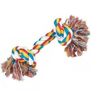 Dog Chew Toys Puppy Knot Fun Tough Strong Throw Pet Tug War Fetch Ropes, 3604