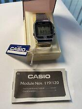 Condición de coleccionista Casio TC-600 119 Pantalla Táctil Reloj En Menta Caja Y Manual