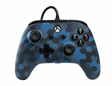 PowerA Microsoft Xbox One Wired Controller - Stealth Blue Camo