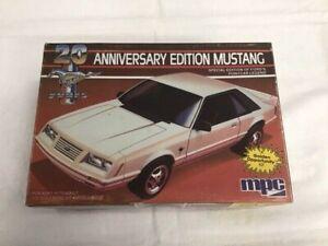 "MPC 1984 ""20th Anniversary"" 1984 Ford Mustang Model Car Kit"
