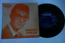 BUDDY HOLLY EP 1960 UK CORAL FEP 2032 RAREST ORANGE COVER EX