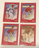 lot of 4 Red Framed Diamond Kings 2018 RC shohei Ohtani Angels