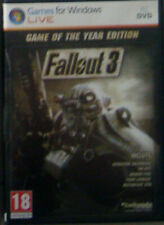 PC: Fallout 3, Game of The Year Edition. Original. Completo
