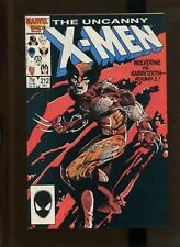 THE UNCANNY X-MEN #212 - THE LAST RUN (8.0) 1986