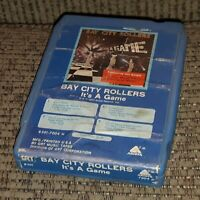 Bay City Rollers It's A Game 8-Track Cartridge LATE NITE BARGAIN vtg pop album