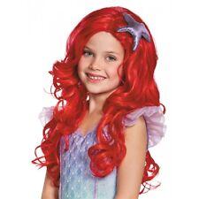 Ariel Ultra Prestige Wig Costume Accessory Kids The Little Mermaid Halloween