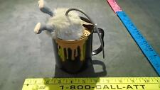 Rare Dandee Animated Sound & Motion Plush Rat Mouse In Coffee Cup (Burp!)