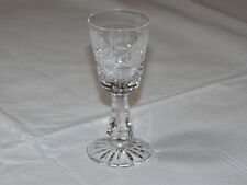 "Waterford Crystal Sherry Glass Cordial in the Rosslare Pattern 4"" tall ~"