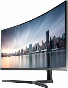 Samsung Business CH890 Series 34 inch WQHD 3440x1440 Ultrawide Curved Monitor