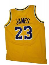 LeBron James los Angeles Lakers # 23 Authentic Jersey Auto Certificado de Autenticidad/VSA