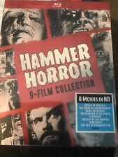 Hammer Horror 8 Film Collection (1960-1964) 4 Disc Blu-ray Sealed Halloween