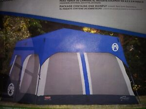 *Accessory* Coleman Rainfly for 8-Person Tent 14x10 Feet Blue Rain Fly