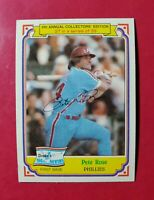 1984 Topps Drake's Big Hitters #27 PETE ROSE (Phillies) (NM-MT) L@@K *FREE SHIP*