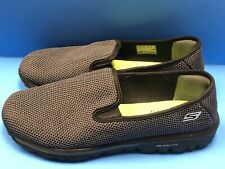 Skechers Memory Form Fit Women's Comfort Slip On 13786EW Size 9.5 Black Gray