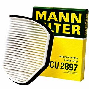 Mercedes-Benz Cabin Filter MANN CU 2897 Cabin Air Filter