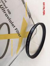 1(ONE) UV FILTER 52mm Ultraviolet TO Camera Camcorder Handycam SAMSUNG OLYMPUS