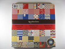 Recollections 'Primary 123' Paper Pad 12x12 60 designs, 180 sheets 386554