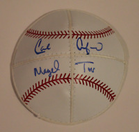 Carl Crawford signed autographed Kippah! RARE! MLB Authenticated!
