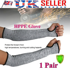 1 Pair Safety Protective Arm Sleeve Guard Cut Proof Cut Resistant Gloves