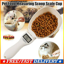 NEW Measuring Spoon Cup Pet Food Water Scoop Kitchen Scale Spoon LED Display