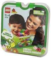LEGO Duplo 6758 Cresci Bruco Cresci Libro+Mattoncini Leggi e Costruisci New
