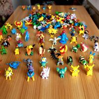 1/12/24Pcs Wholesale Mini Pearl Pokemon Figures Monster Lot Kids Children Toys
