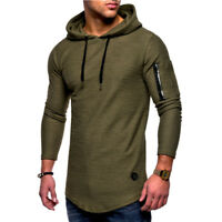 Gym Tops Hoodies T-shirt Sports Workout Hoodies Sweatshirt Men/'s Casual