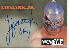 Lizmark, Jr. 1999 Topps Embossed WCW/NWO Autograph Card