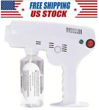 Usa Electric Atomizing Disinfection Sanitizer Sprayer Gun Fogger Cordless 400Ml