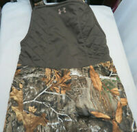 Under Armour Brow Tine Hunting Bib Forest Camo Womens Size Med 1316697 991 $170