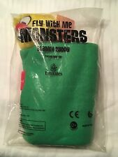 Fly With Me Monsters Blanky Buddy AIRBOE Emirates Airline Exclusive Toy Plush