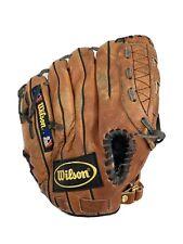 "New listing Wilson A2483 11"" Advisory Staff Baseball Glove Dual Hinge Crown Web Leather"