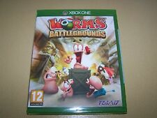 Worms Battlegrounds (Microsoft Xbox One, 2014) ** nuevo Y Sellado **