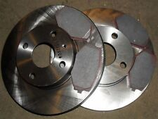 Front brake discs & pads set, Mazda MX5 1.6 1.8 mk2 98-, 255mm vented disc, MX-5