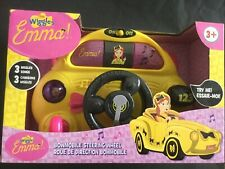 The Wiggles Emma Bowmobile Steering Wheel Bnib Free Shipping