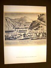 Battaglia di Somo Sierra Chereau + Georges Cadoudal Capo briganti Arte Francia