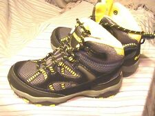 Gander Mountain Boys Trail Climber Explorer Suede Mid Hiker Black Size 13
