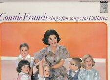 Connie Francis . Fun Songs for Children . 1962 MGM mono LP