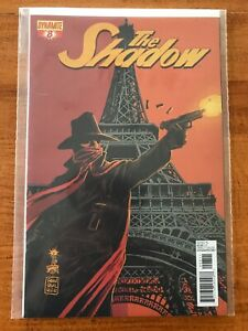 THE SHADOW #8 FRANCESCO FRANCAVILLA VARIANT COVER DYNAMITE COMICS BOOK - NM
